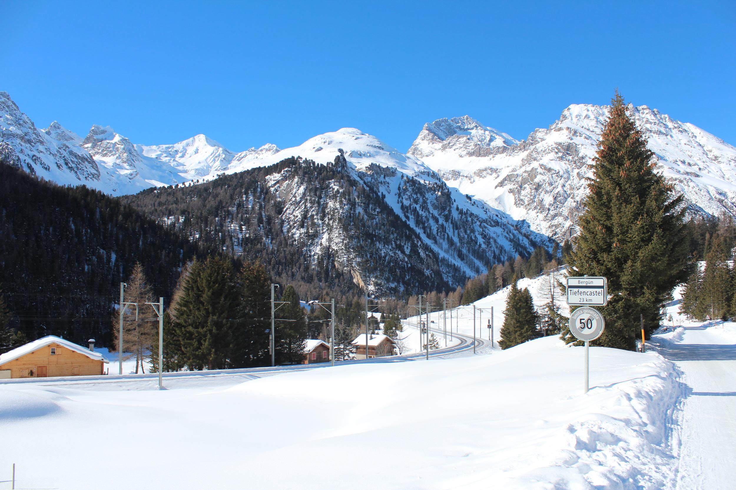 Preda mountain panorama