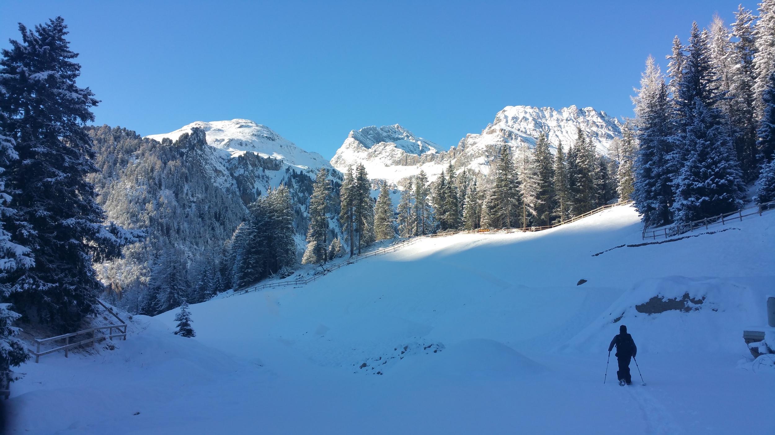 Schneeschuhtour 2015 Muot in Preda