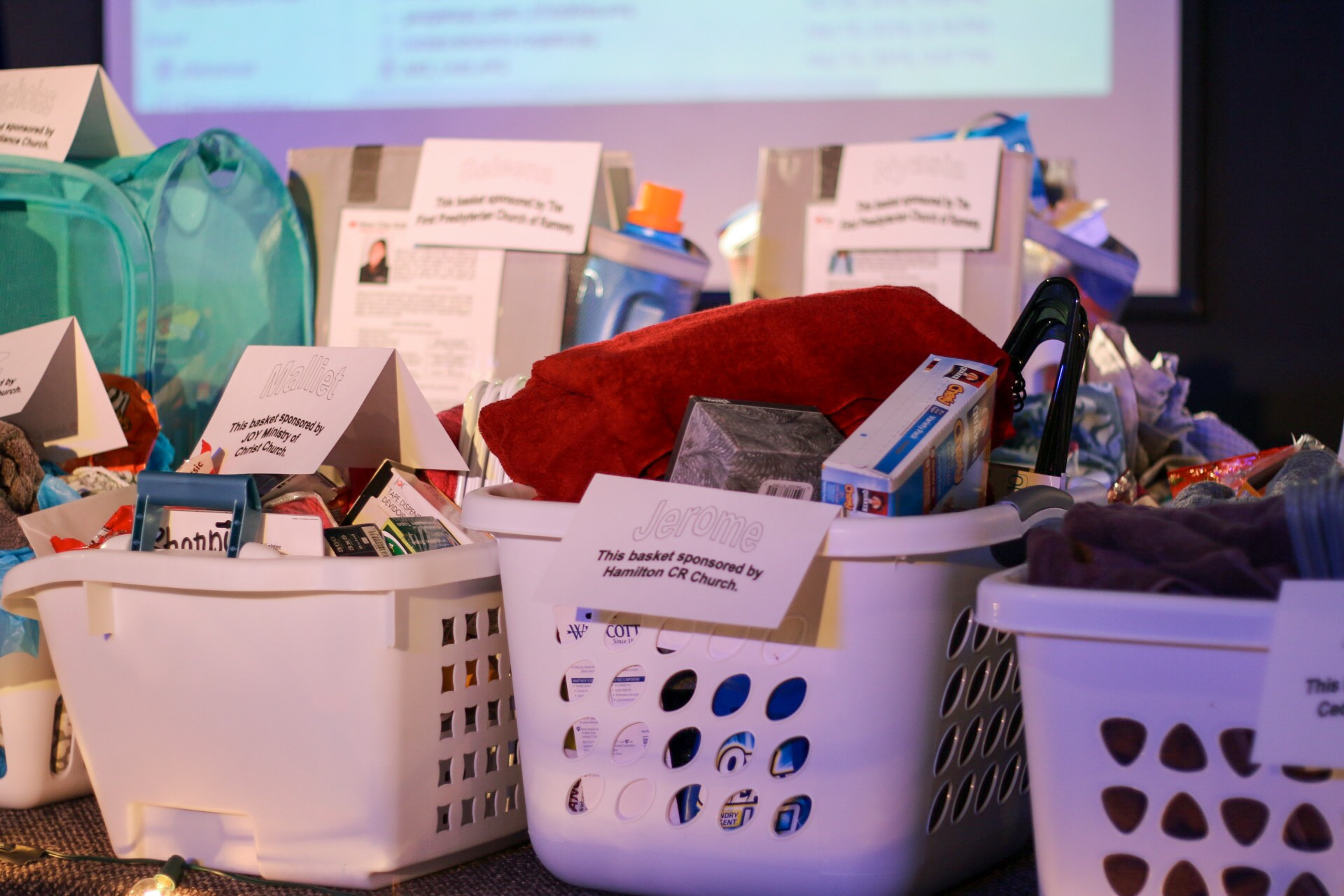New City Kids - College Gift Baskets