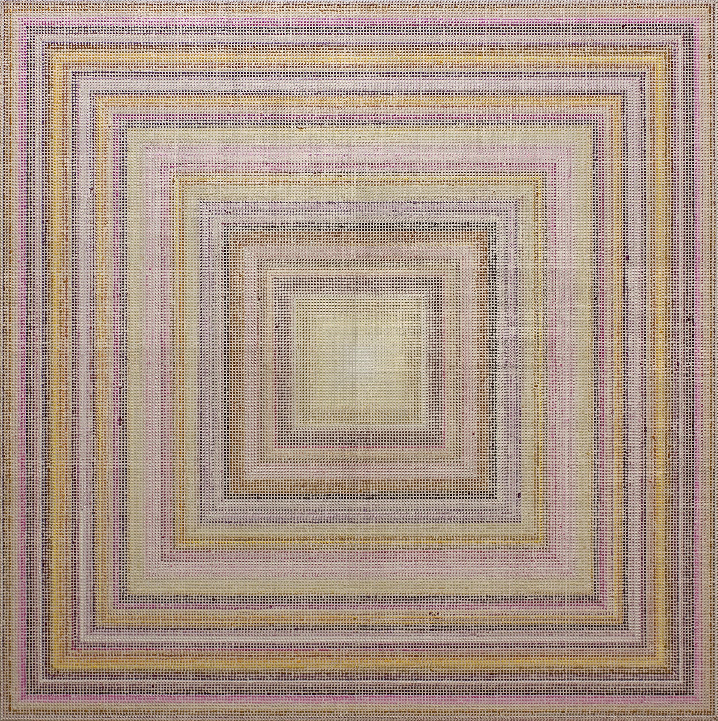 Untitled (BYMV), acrylic on canvas, 2011, 60 x 60in | 152 x 152cm
