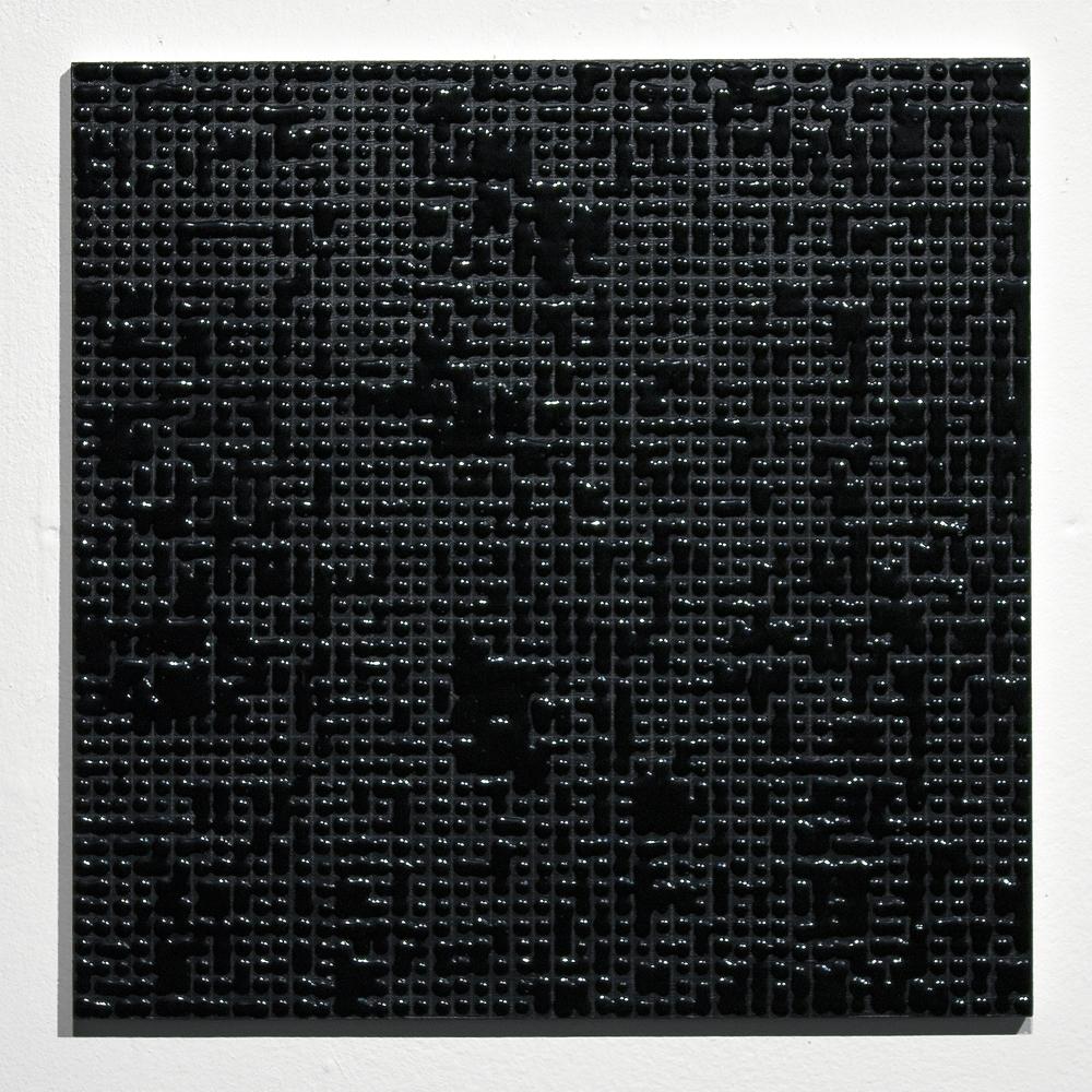 Untitled (Black #A) Acrylic on MDF 12 x 12 inches 2010.jpg