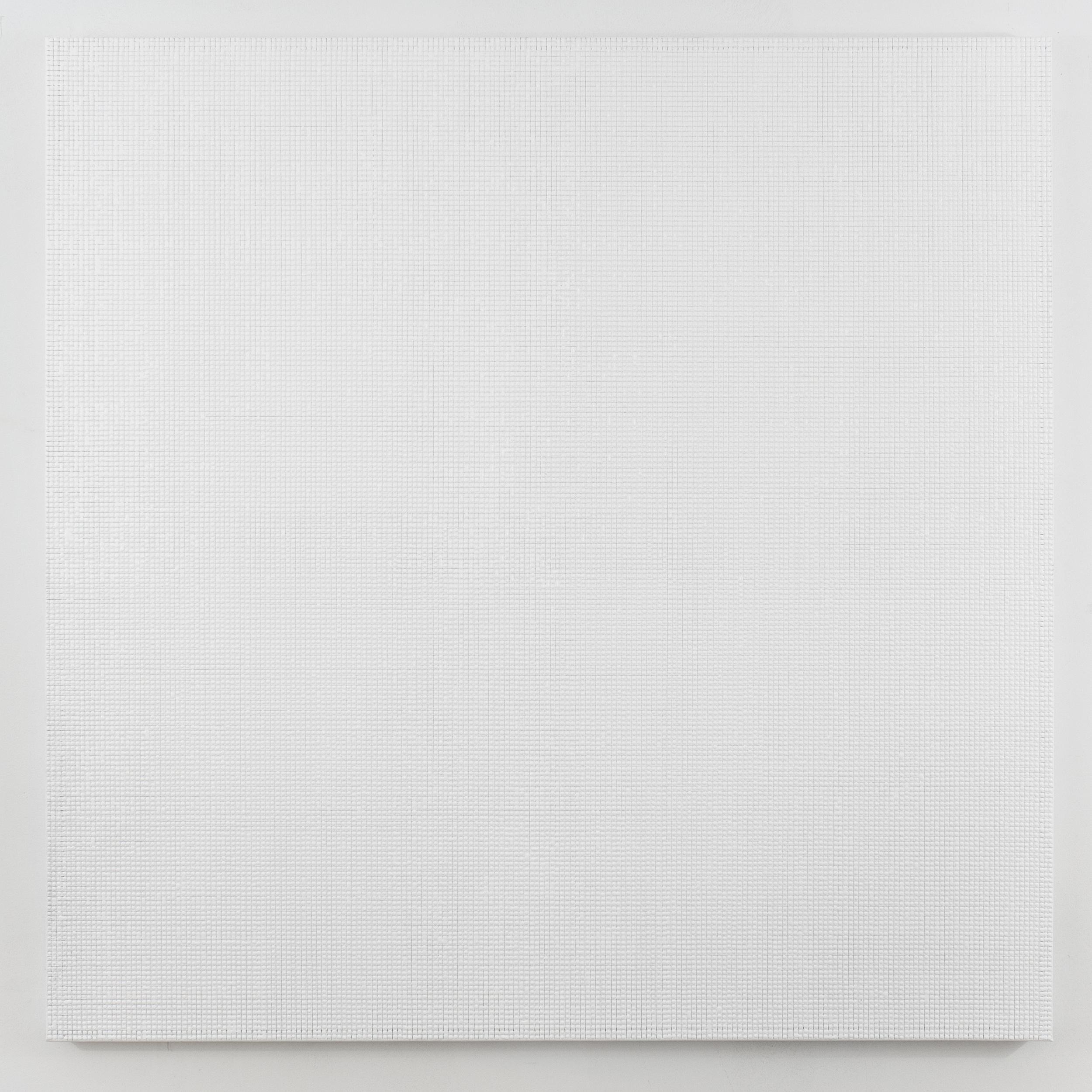 1st Mergence White acrylic on canvas 2014 50 x 50 inches.jpg