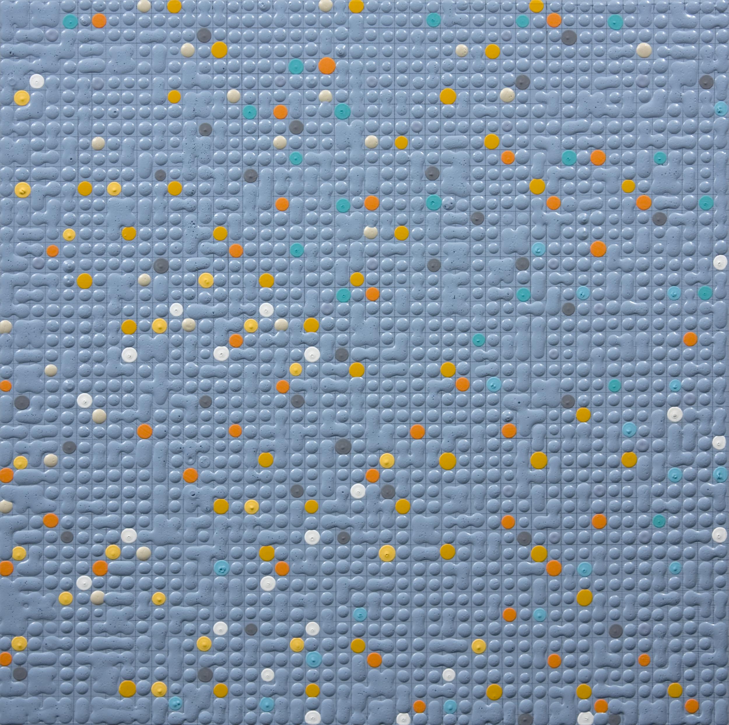 Primary Array #56, acrylic on canvas, 2010, 12 x 12in | 30 x 30cm