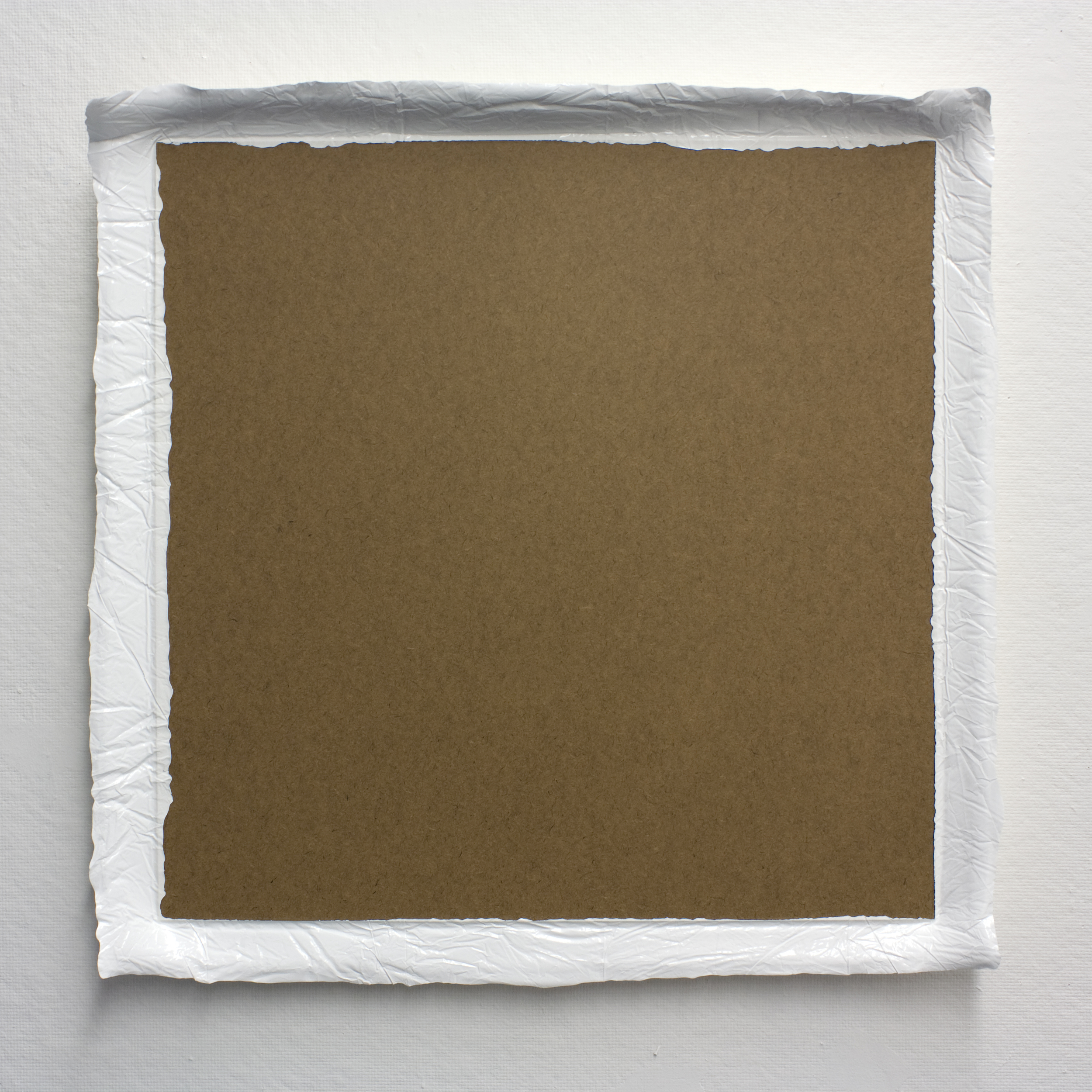 Untitled (White #1), acrylic on board, 2010, 26 x 26in | 66 x 66cm