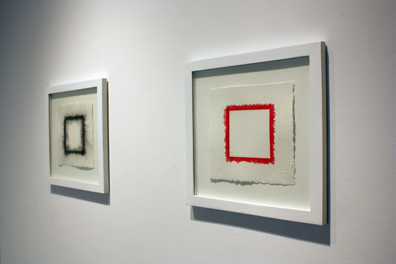 Untitled #1 (Black), charcoal on paper, 2010, 7 x 7 inches Untitled #1 (Red), pencil on paper, 2010, 7 x 7 inches.jpg