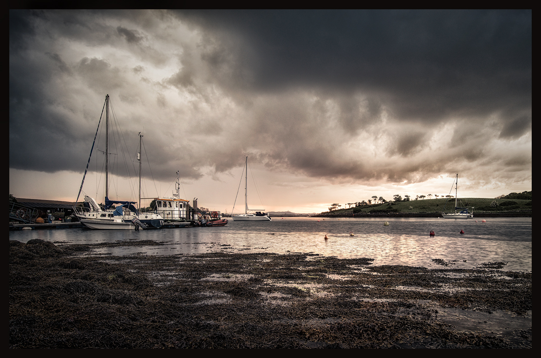 Moored Boats - Sketrick Island