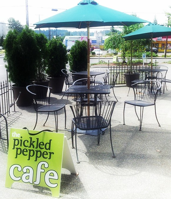 Patio at The Pickled Pepper