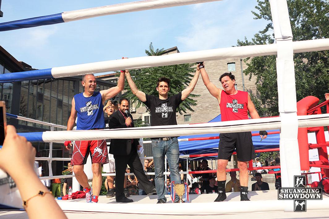 Charlie Sampson vs John Watkins Boxing Shuangjing Showdown 4 Beijing