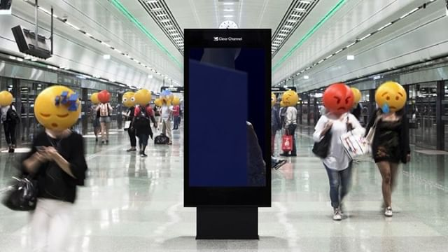 Last week we launched a project we've been working on for the last six months together with @clearchannelscandinavia. It's basically the world's longest (and most emotional) digital art gallery. Together with tech director @createsleepcreate, we've developed an algorithm that analyzes real-time data from Twitter, Google Search and Google News to give us an indication on how the people of Stockholm is feeling.  We then match those (negative) feelings with custom made digital artworks created by artists from around the world to express positive feeling. A huge round of applause for the fantastic artists: @anablizz @wannerstedt @emiliemottet @ericlimbo @susi__sie @lindborg.tv @maciekjanicki. To this date, the artworks have been displayed hundreds of thousands of times — and will continue to spread positive emotions to the people of Stockholm for another week. #emotionalartgallery #weareaffairs