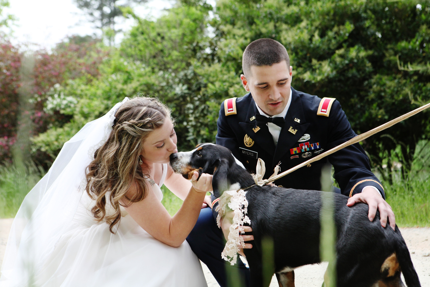 southern vintage military matrimony