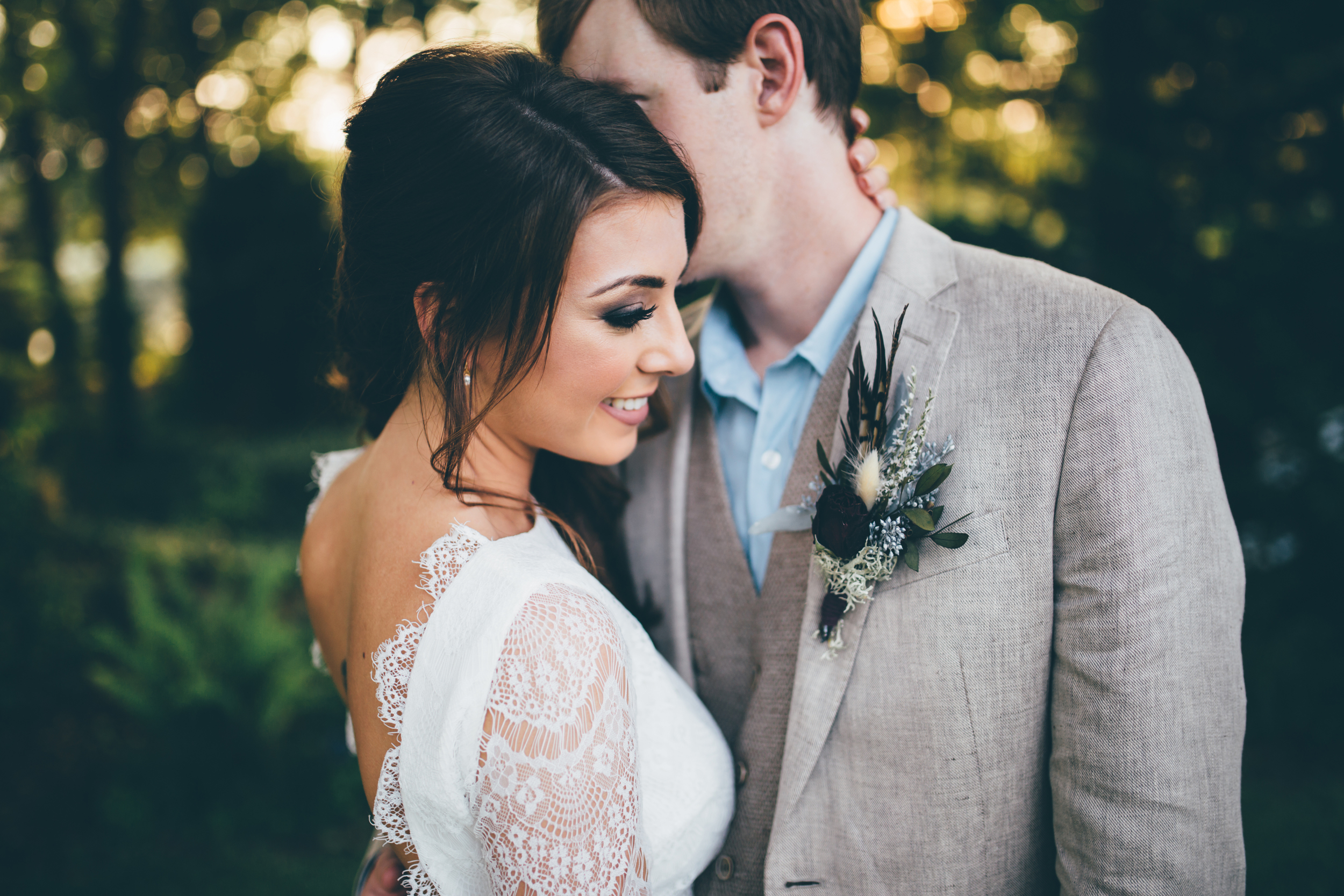 This stunning bride, Jes, shares the process of planning for her big day.