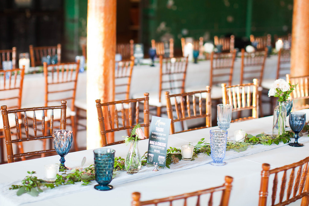 Airy Blue Tablescape