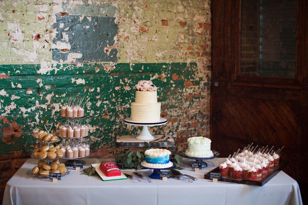 Southern Vintage Dessert Table
