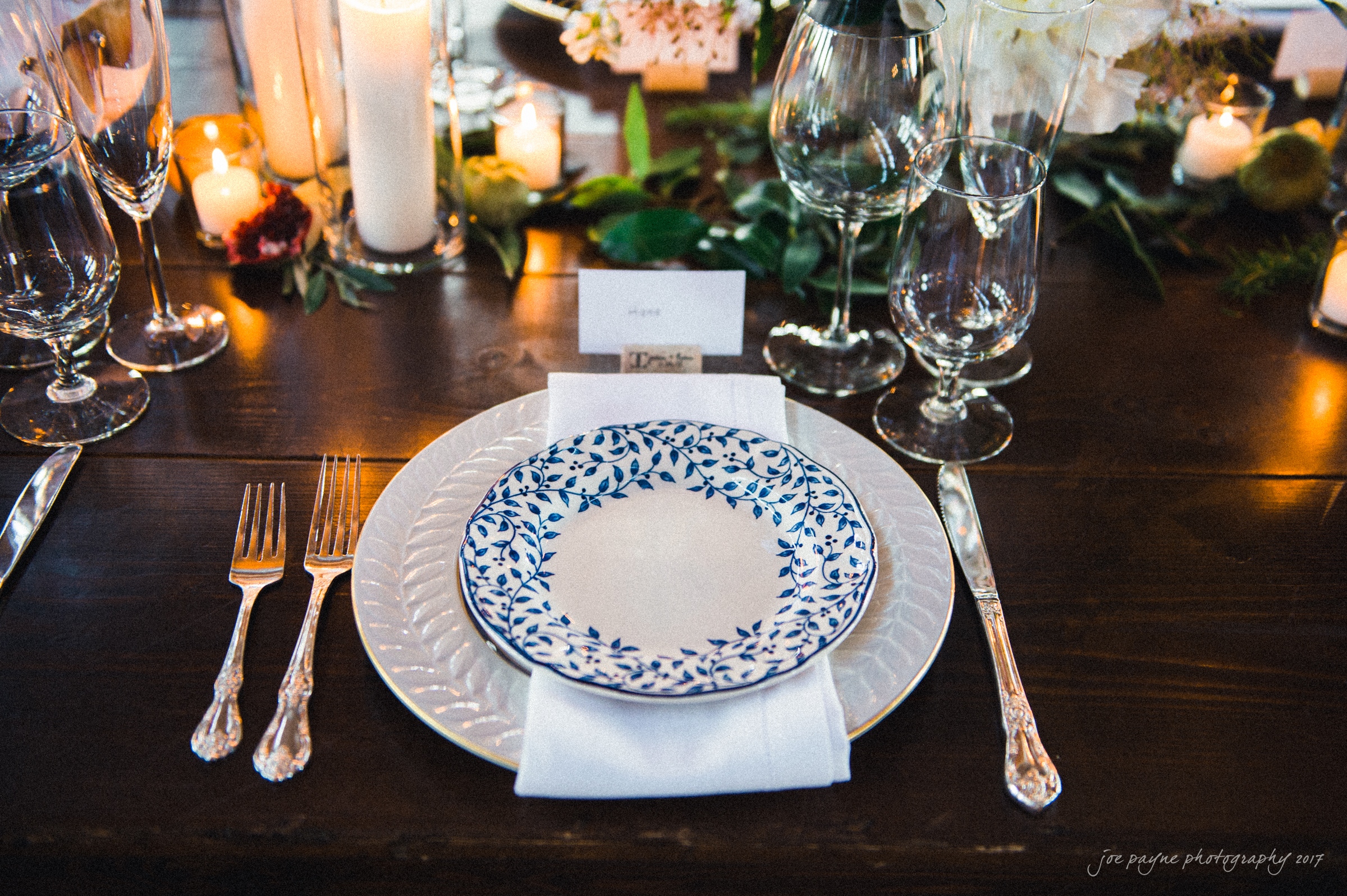 Blue Classic Collection Vintage China