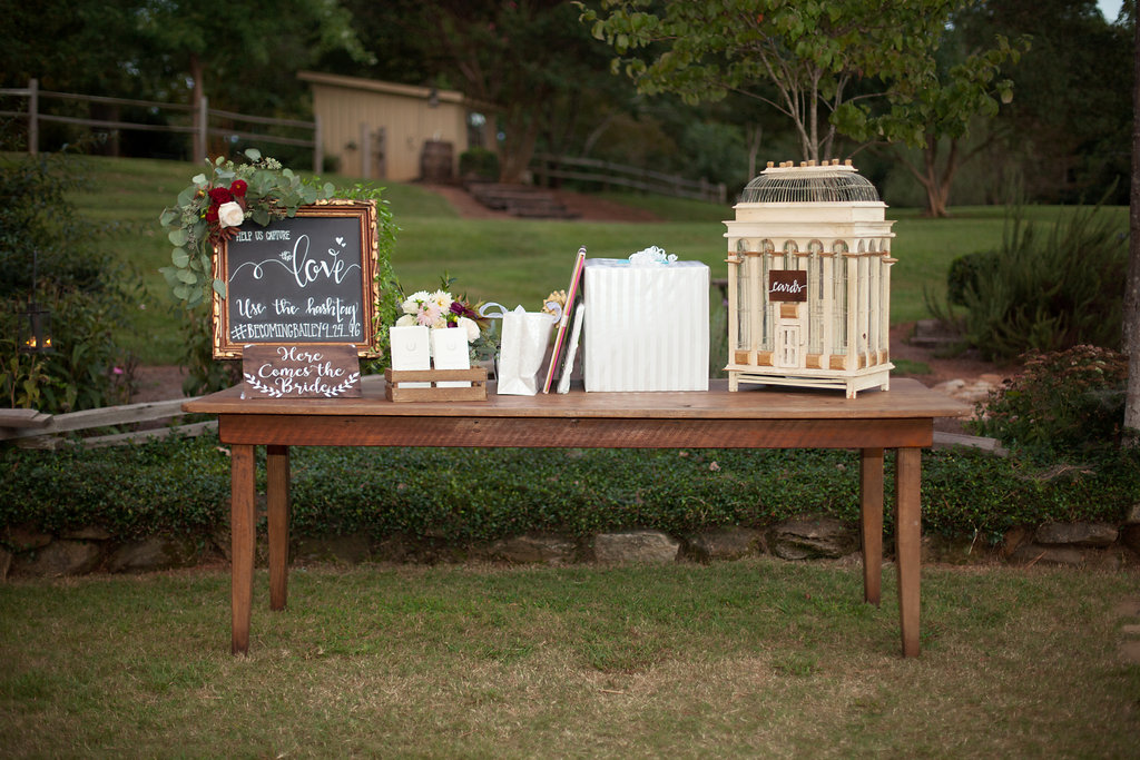 Southern Vintage Small Gold Chalkboard