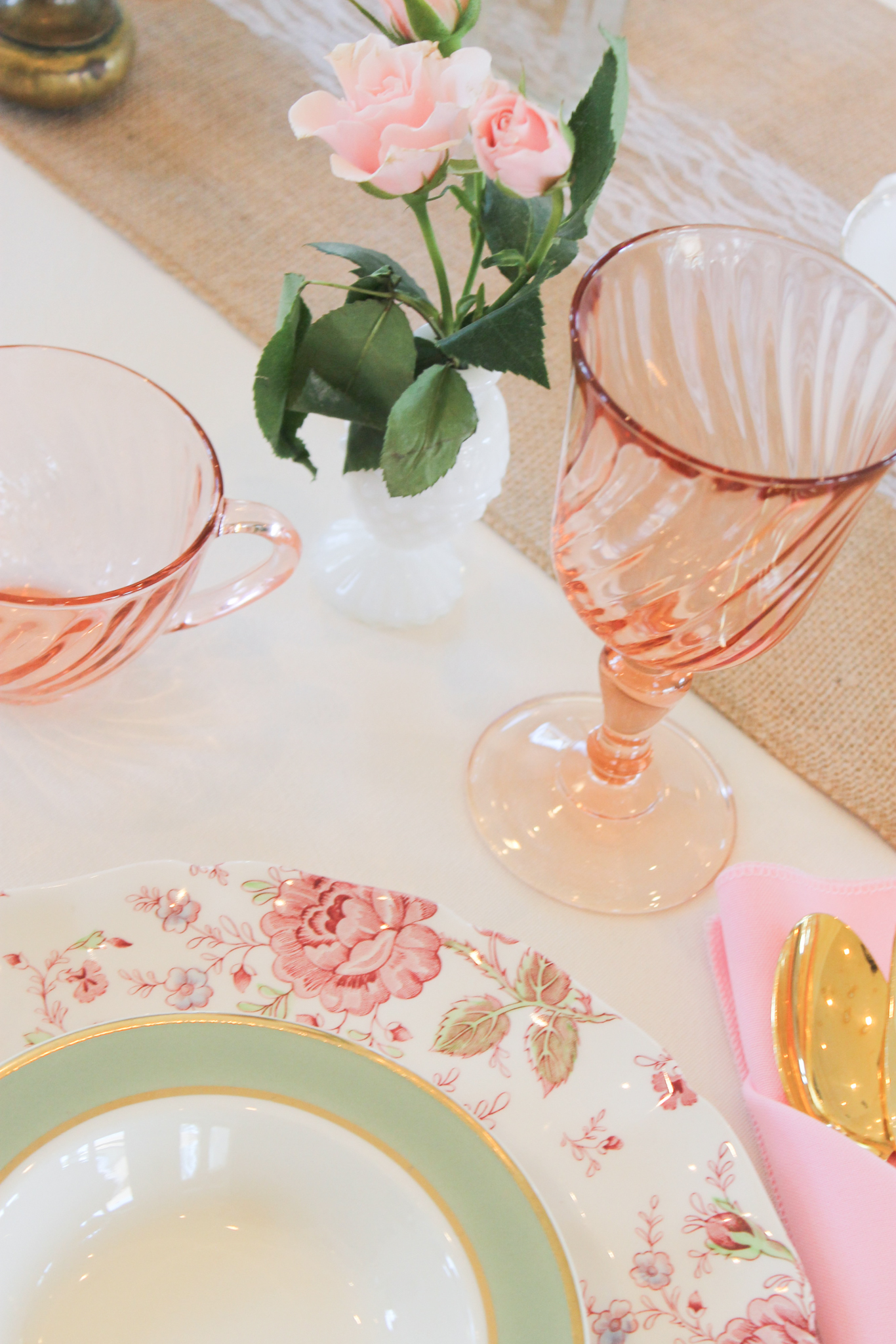 Southern Vintage Baby Shower- table setting.jpg