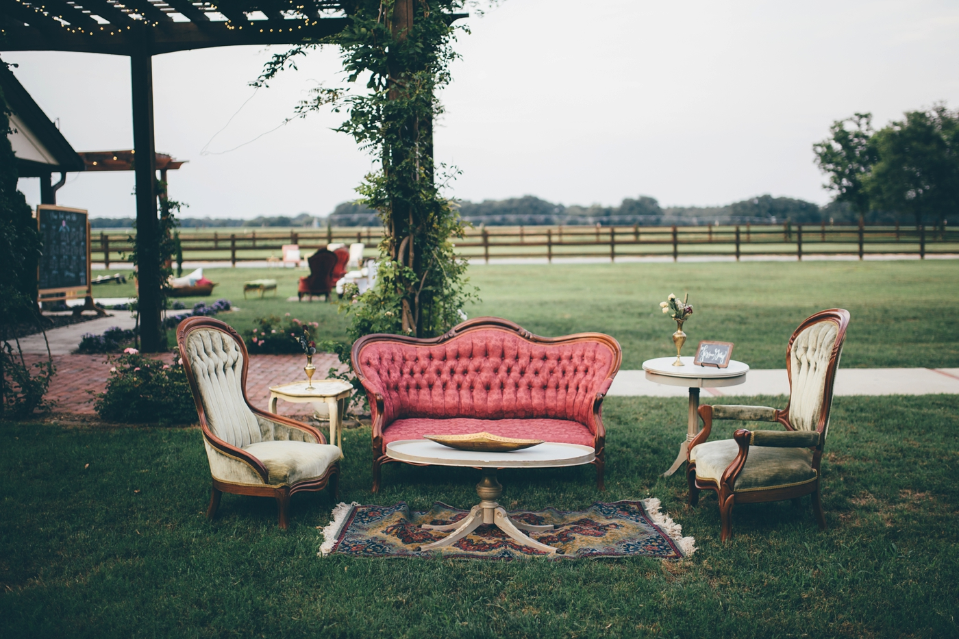 Southern Vintage Lounge Area