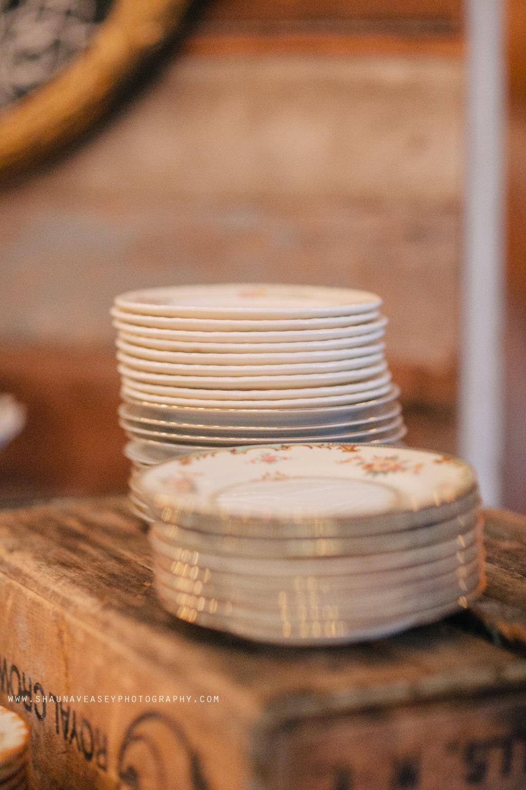 Southern Vintage Dessert Bar Plates