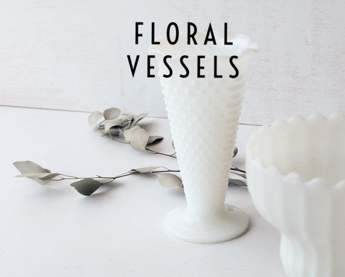 Southern Vintage Rental Vases Floral Vessels