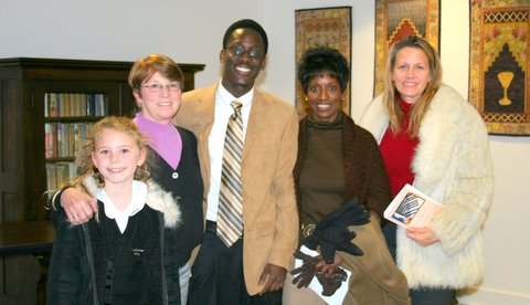 Tori Hicks,  Suzanne Shull, Tre and his mom, Ravis Fortenberry and Darlene Hicks