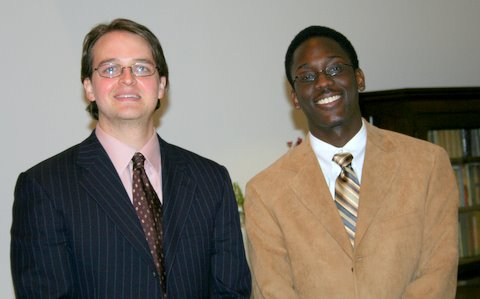 Robert Henry, piano and Tre Fortenberry, piano