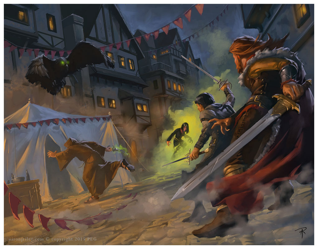Savage Tales of the Thieves' Guild