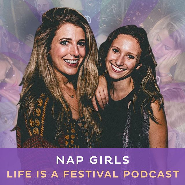 Listen to our cofounders @lizgarard & @abi_getto talk about the origin of #NapGirls, working in the music industry, and allyship on #LifeIsAFestivalPodcast with @eamonarmstrong 🥳 Link in bio!