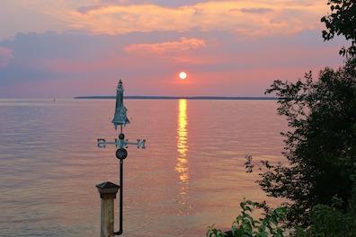 Sunset Over Lake Erie