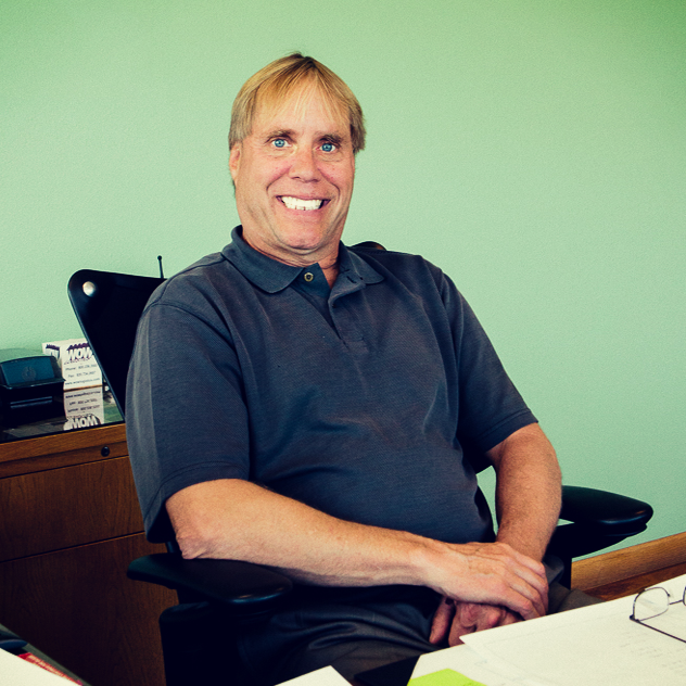 Eric Reeder, President of Custom Glass Products in Weston, Wisconsin.