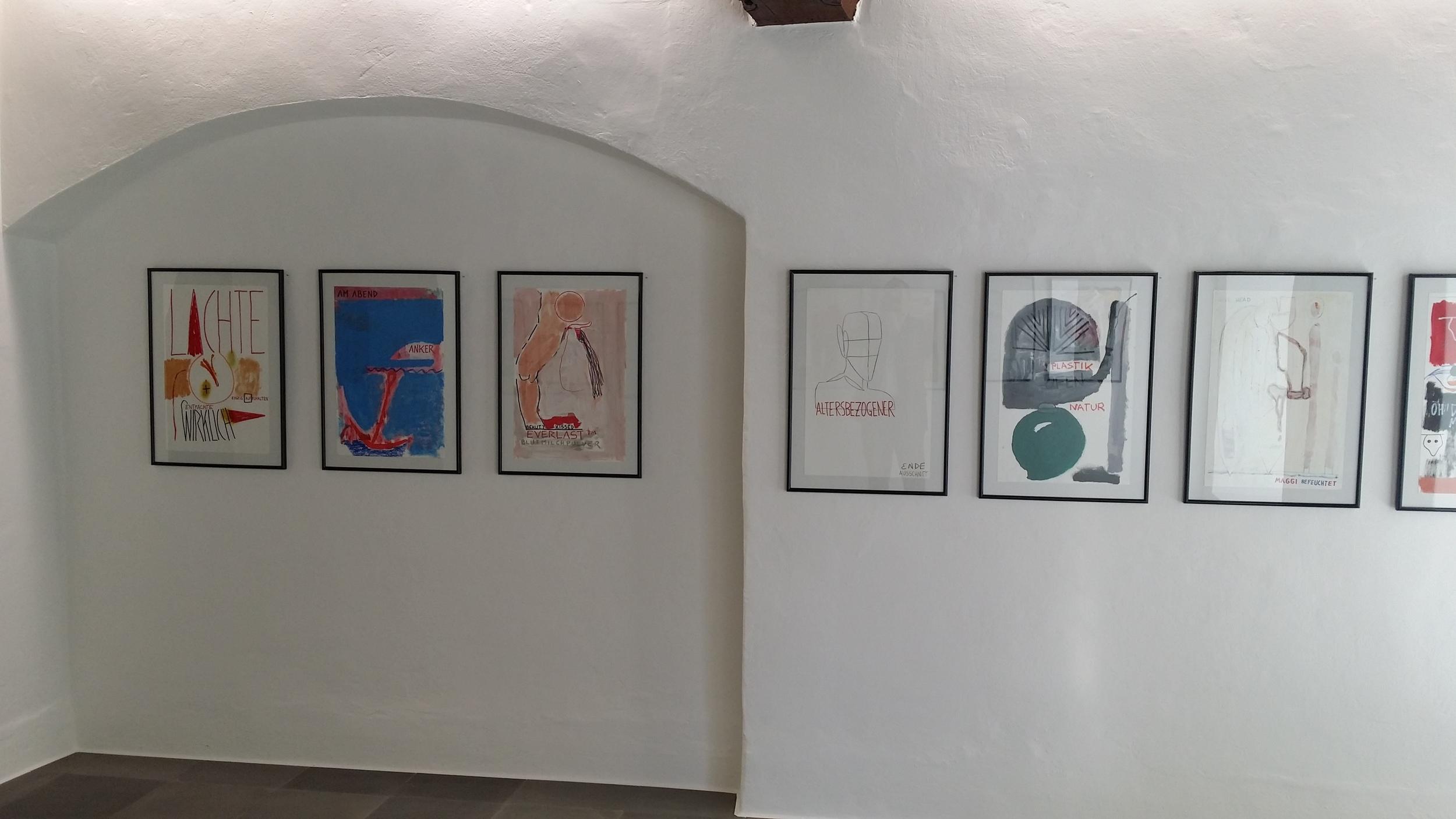 Gmunden, Galerie 422 Werkserie gemeinsam mit Dietmar Brehm 2015