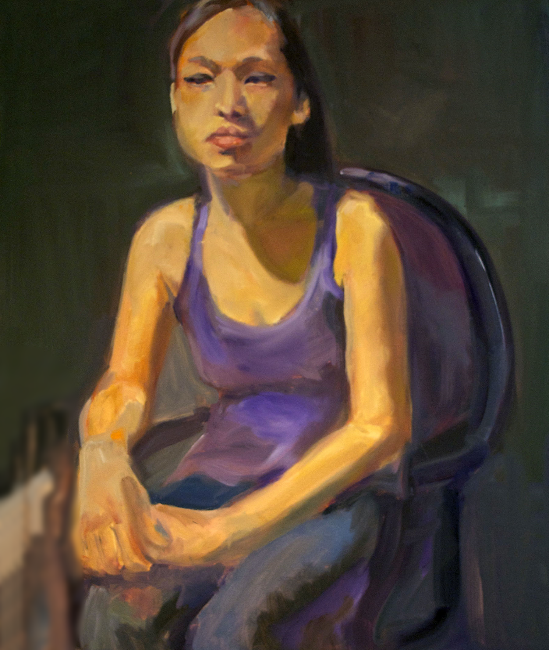 study,2014  Oil on Canvas   20 x 14 inches