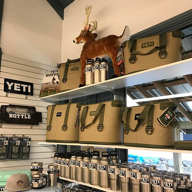 Yeti Hoppers $100 off each size at Fall Creek Falls General Store while supplies last.