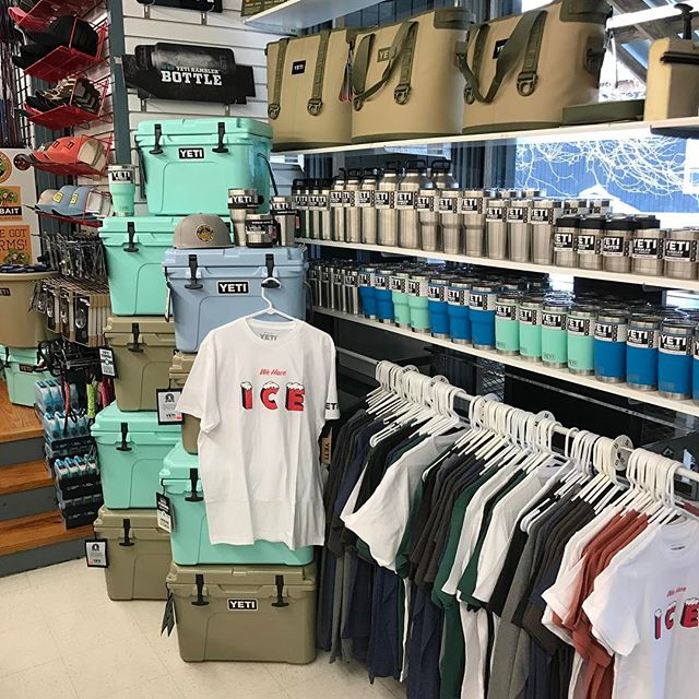 Check out the new Yeti selections at Fall Creek Falls General Store. WOW!!