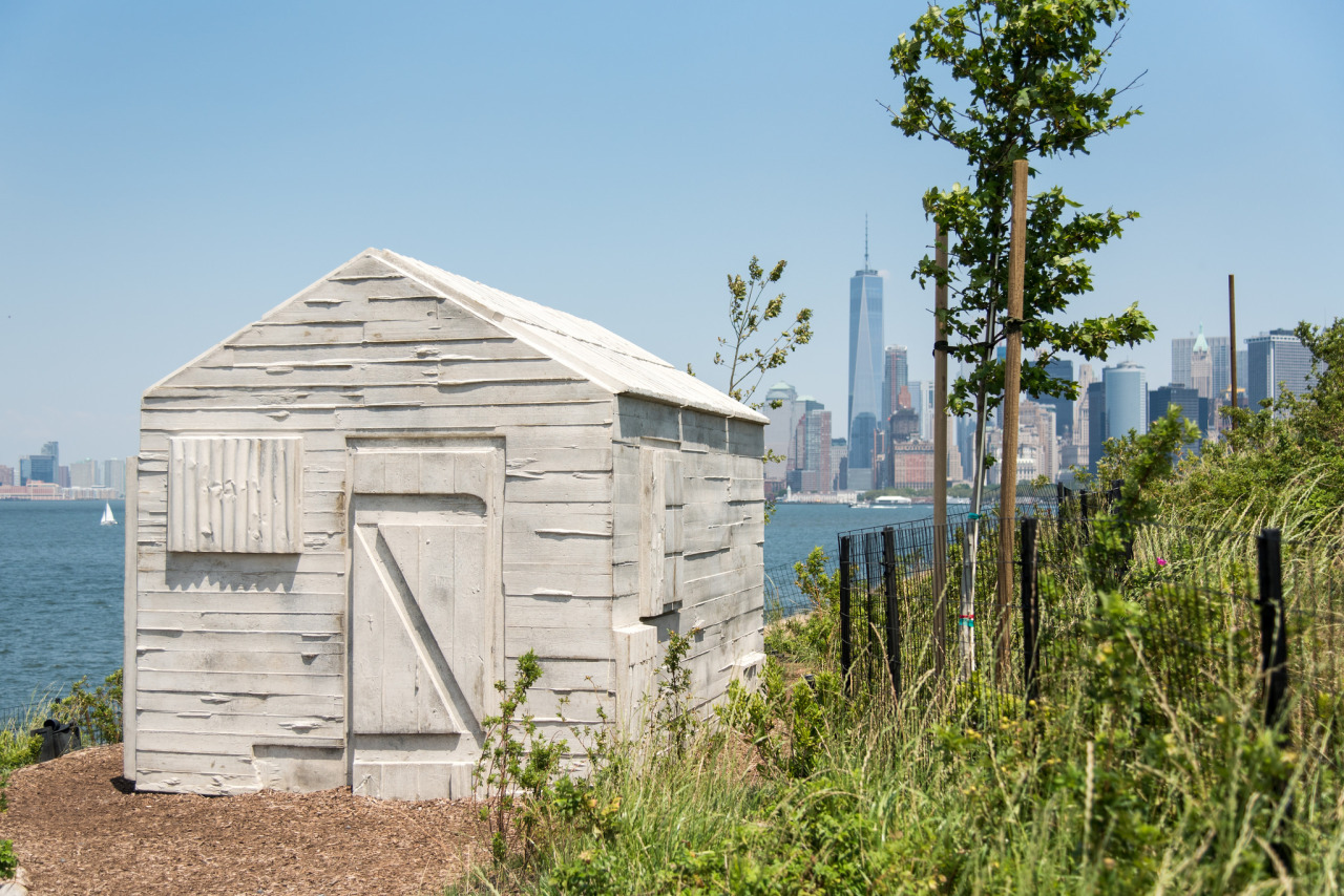 Rachel Whiteread installation at Governors Island, NYC
