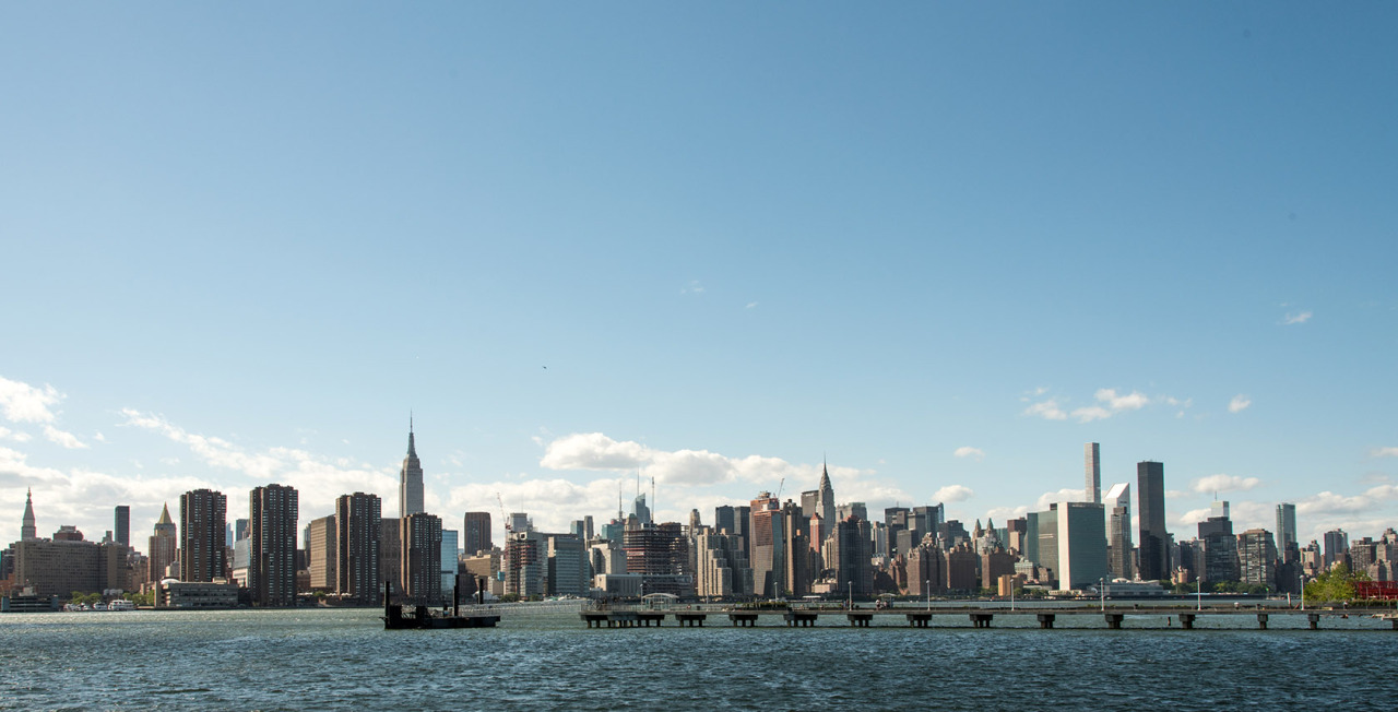 NYC skyline from Greenpoint, Brooklyn