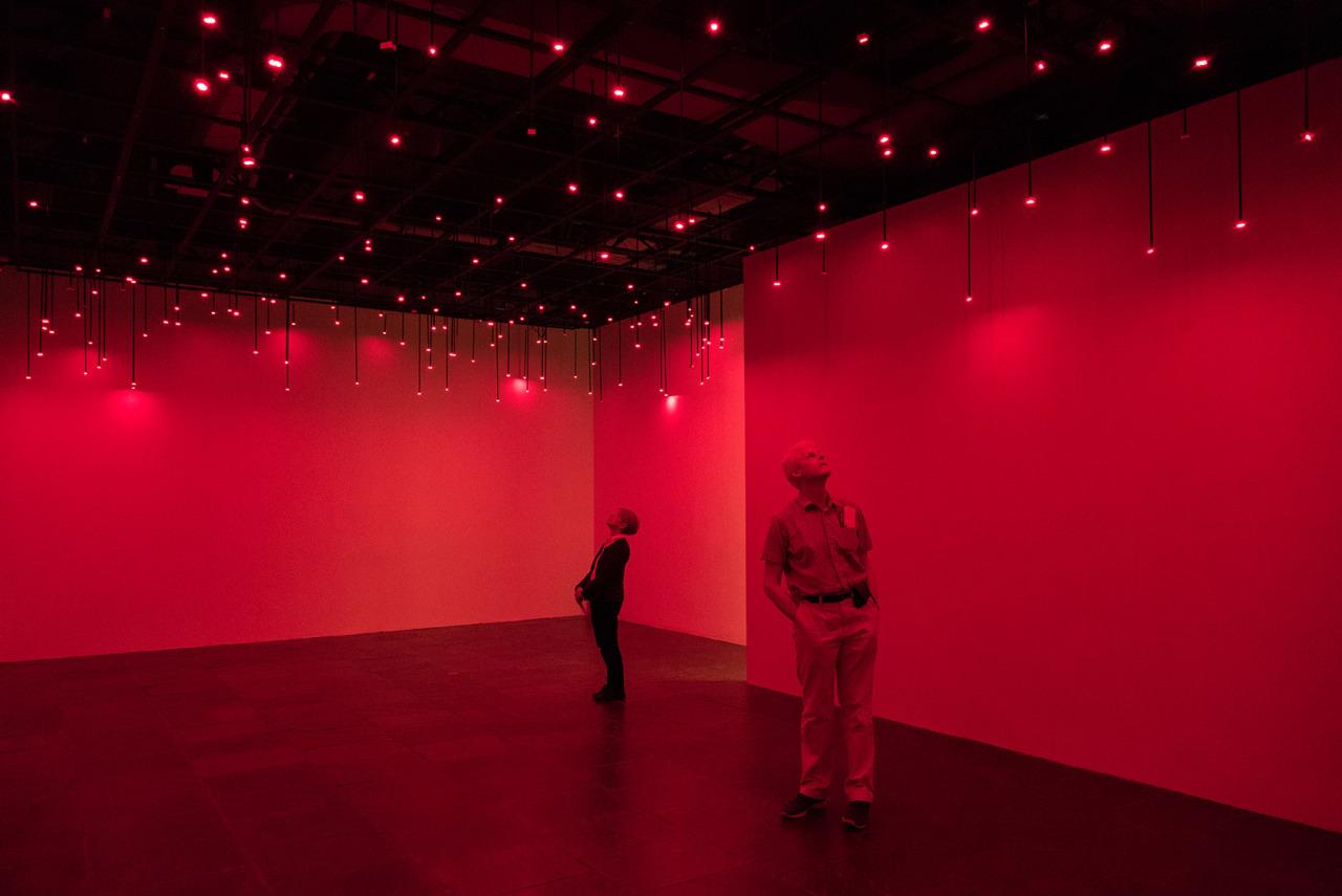 Tatsuo Miyajima installation at Met Breuer