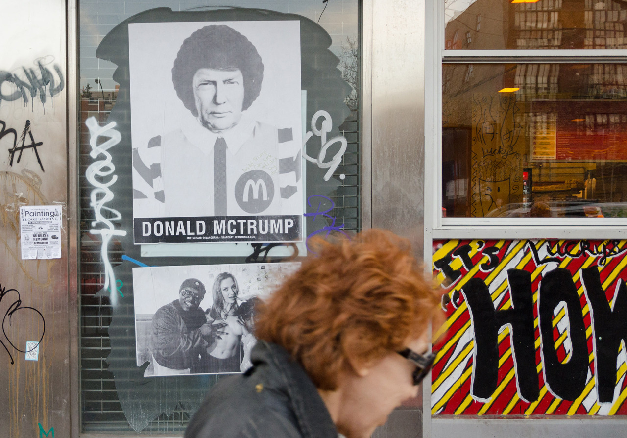 Donald McTrump  Lower East Side, NYC