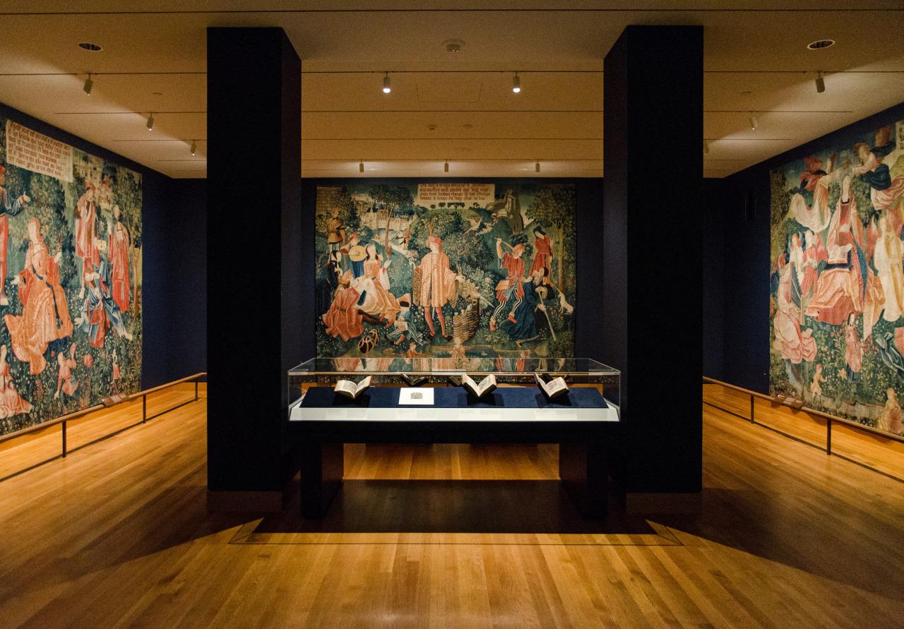Beautiful Tapestries and Illuminated Manuscripts gallery at  @clevelandmuseumofart .