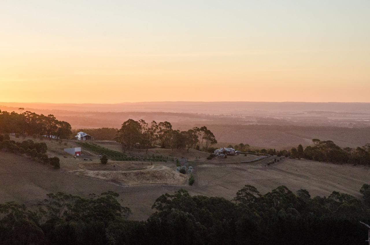 Australian countryside. Victoria, Dec. 2015.
