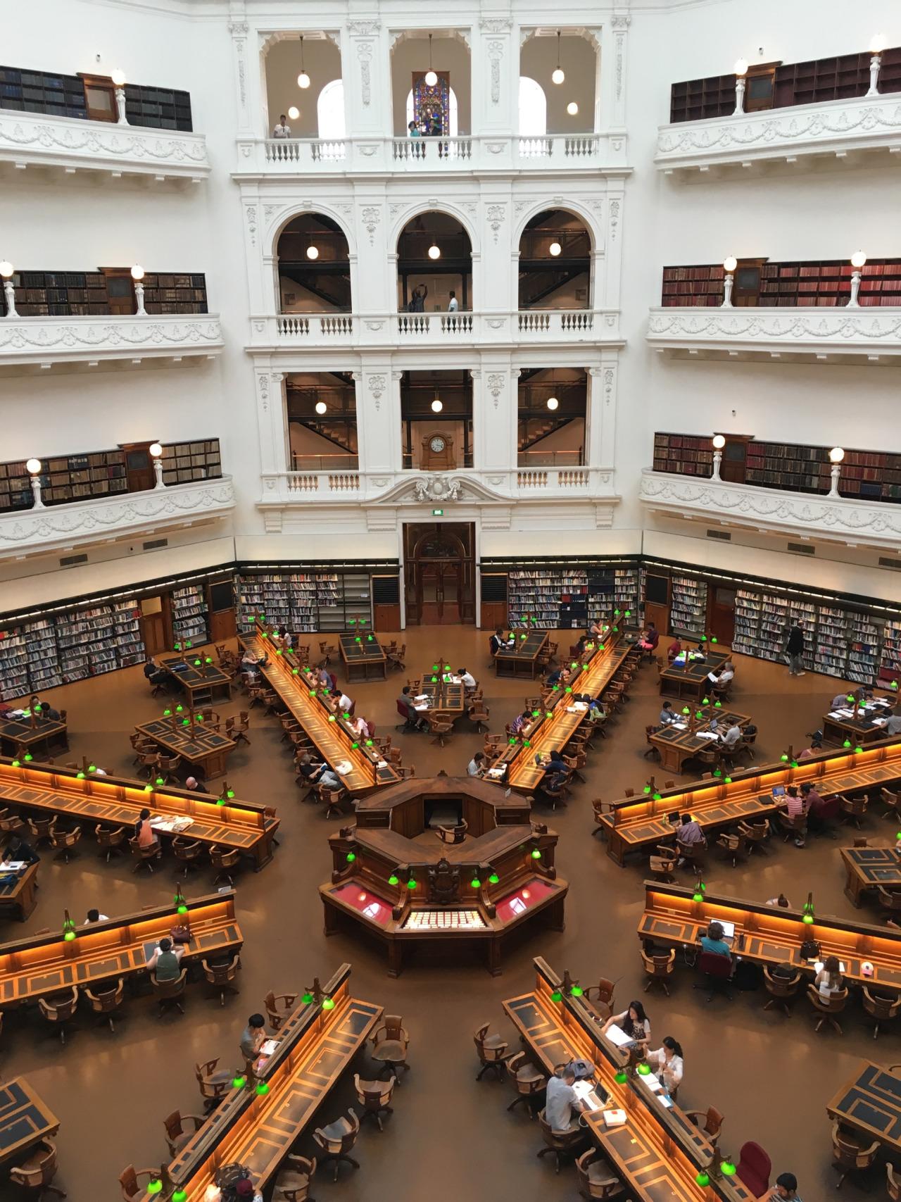 State Library of Victoria in Melbourne, Australia.