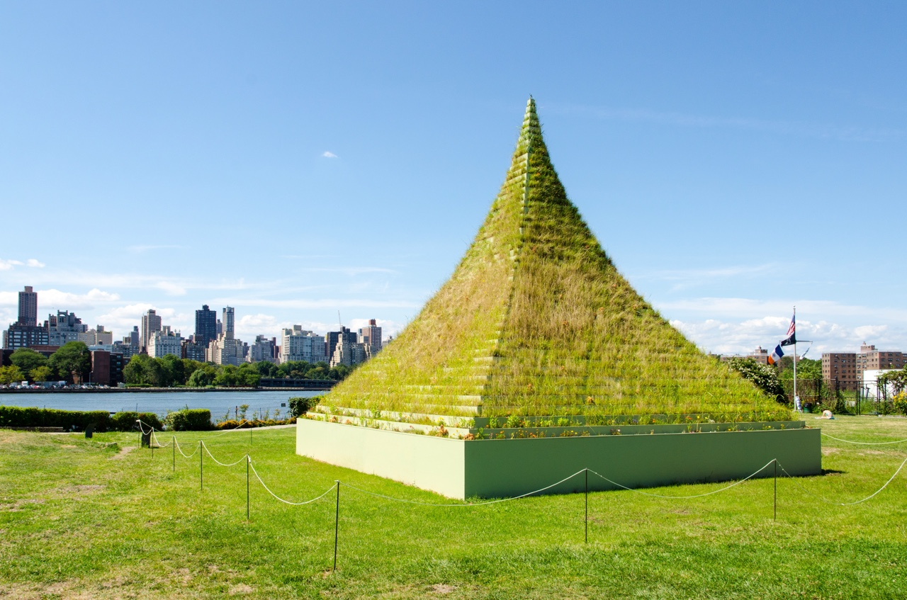 Socrates Sculpture Park in Astoria, Queens.
