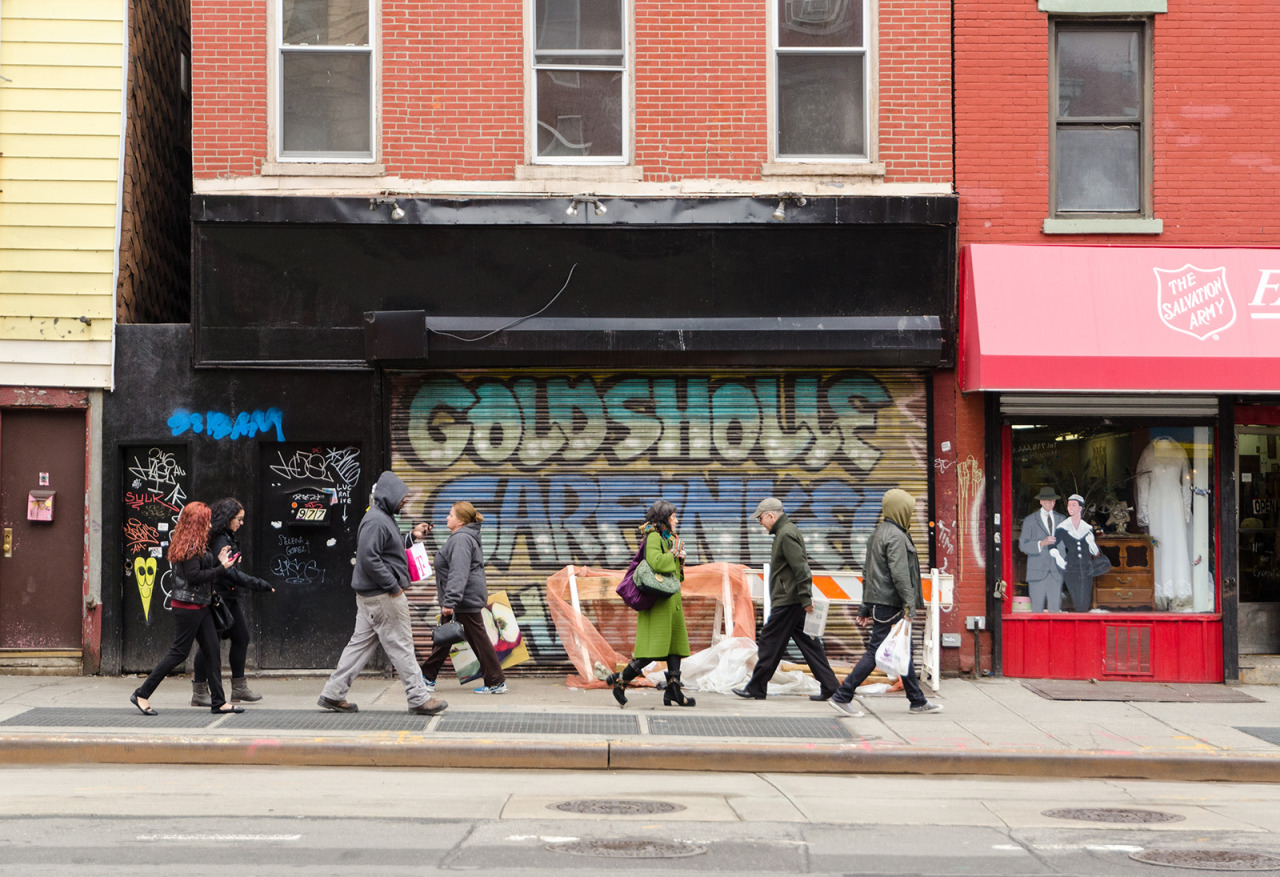 Manhattan Avenue in Greenpoint, Brooklyn, NY