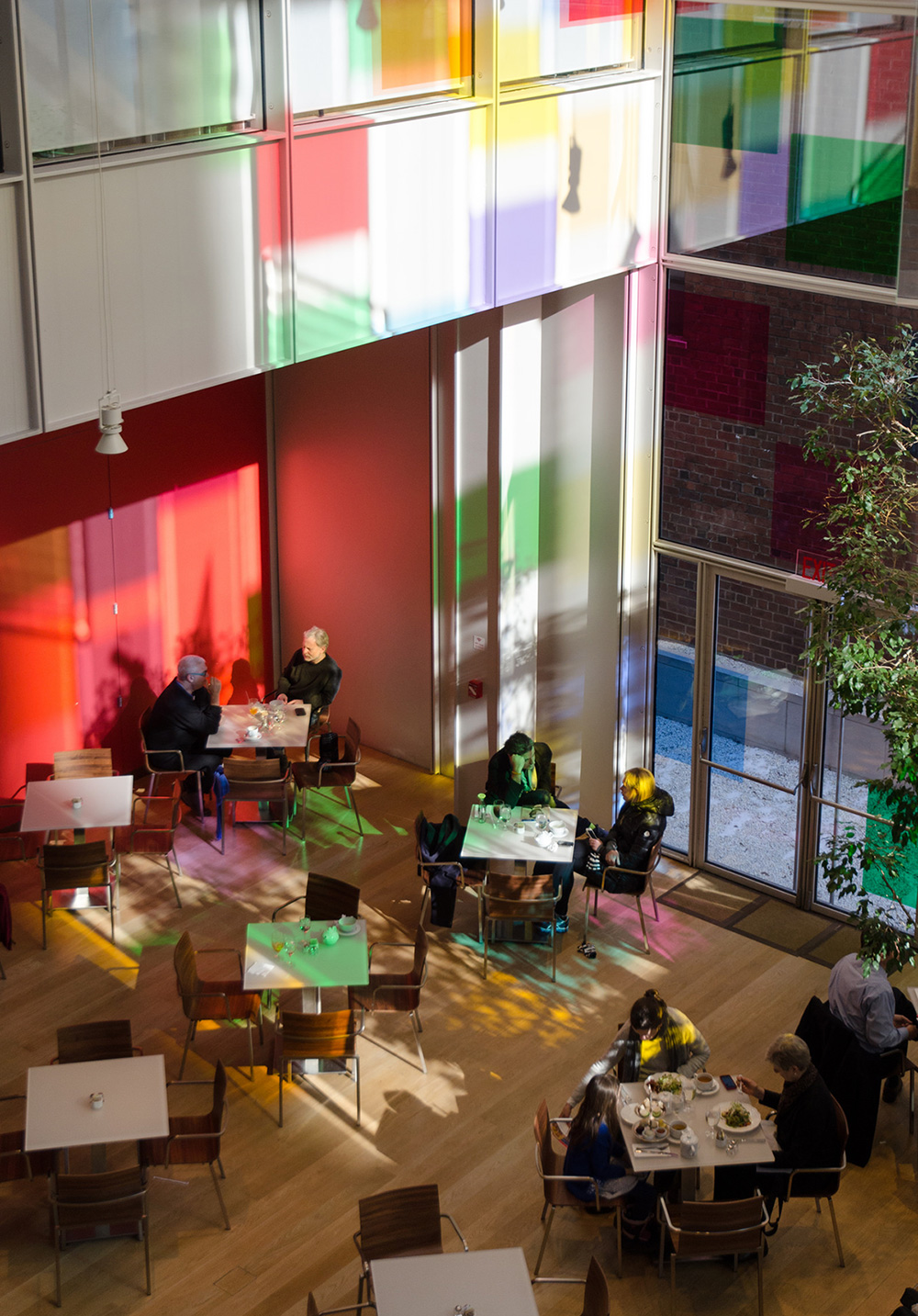 A Certain Slant of Light, the Spencer Finch installation at the Morgan Library and Museum