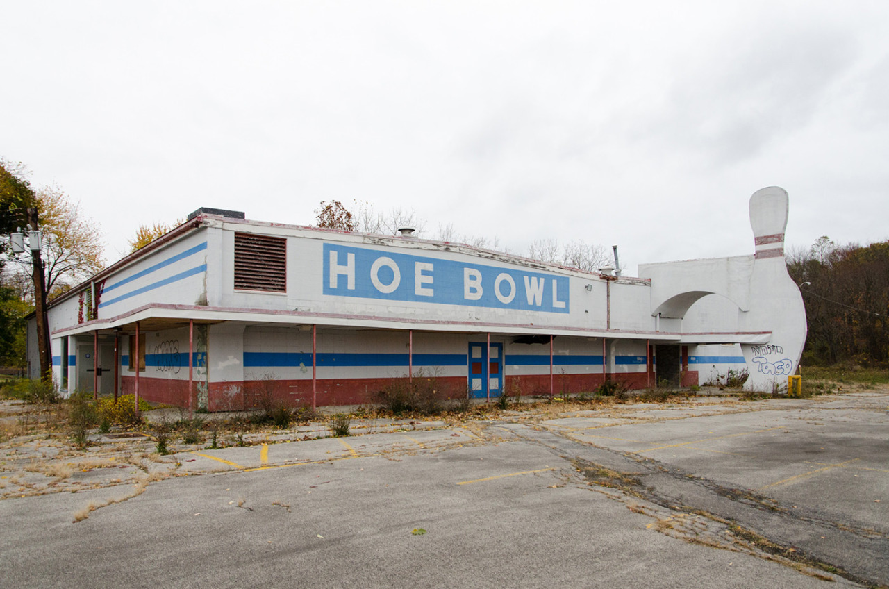 Abandoned Hoe Bowl in Hyde Park, NY. For sale.