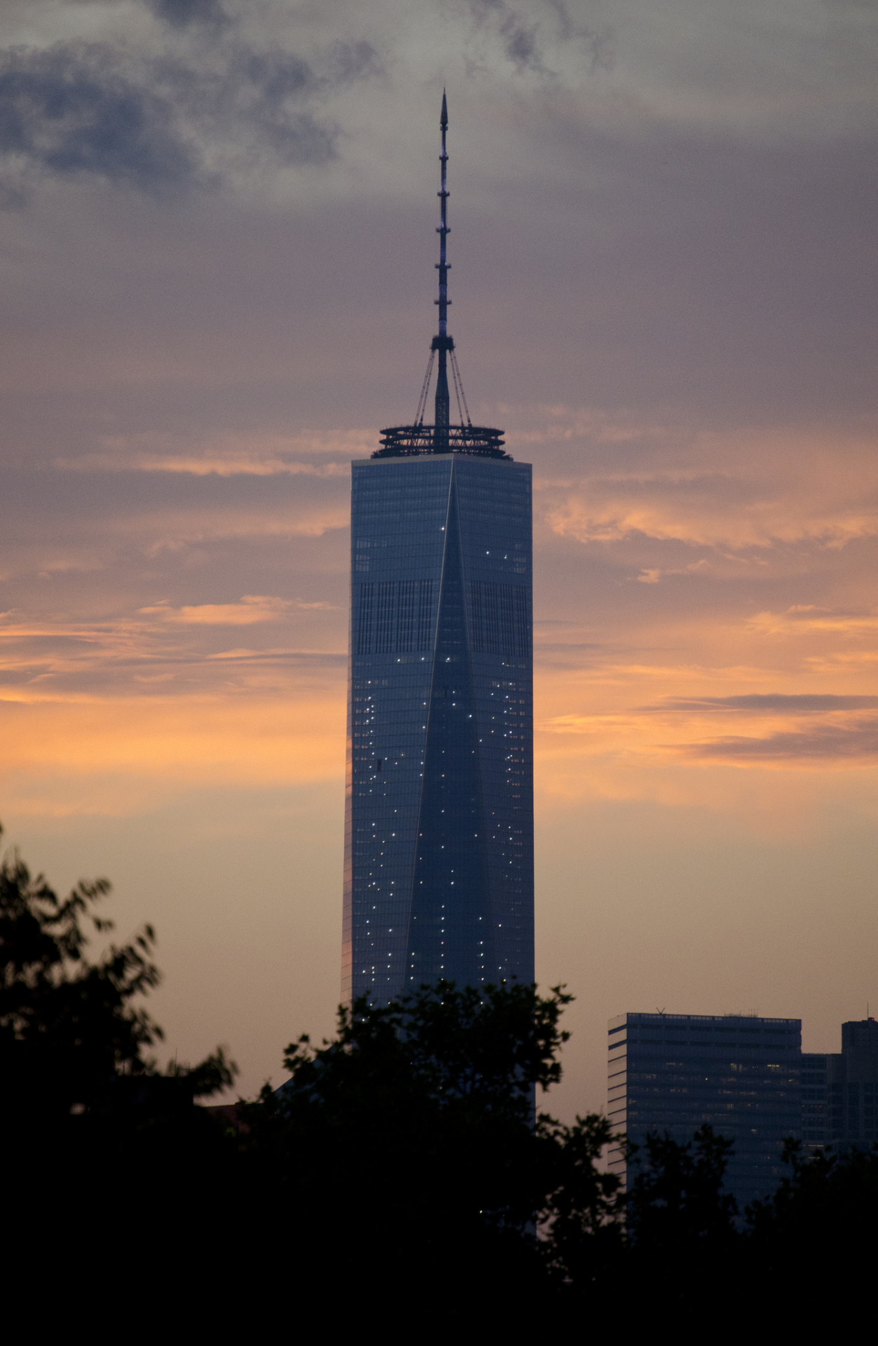 One World Trade Center from Fort Greene Park in Brooklyn
