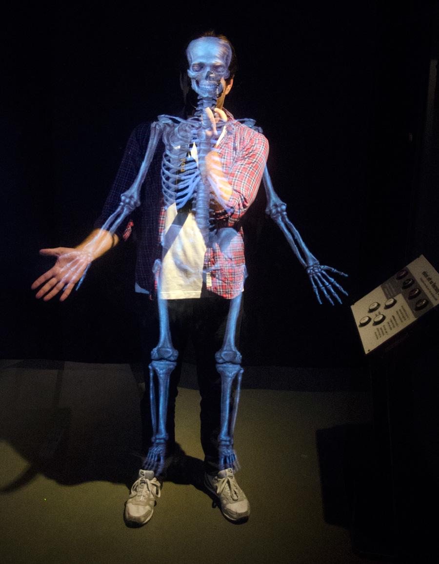 Self-portrait at the Exploratorium in San Francisco.