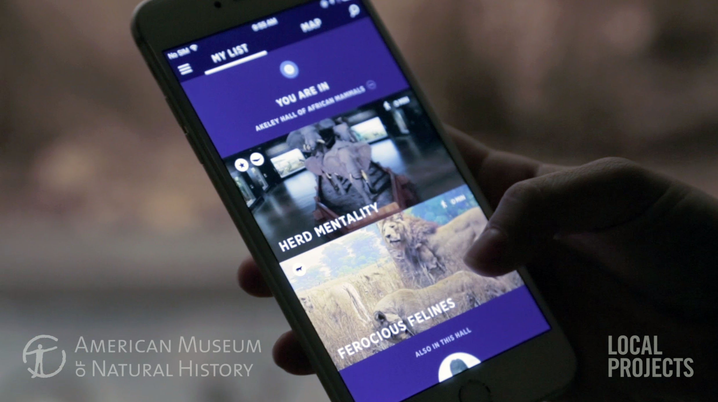 Location awareness serves up content based on where you are in the museum