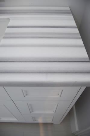 Quartz countertops in 5th bedroom