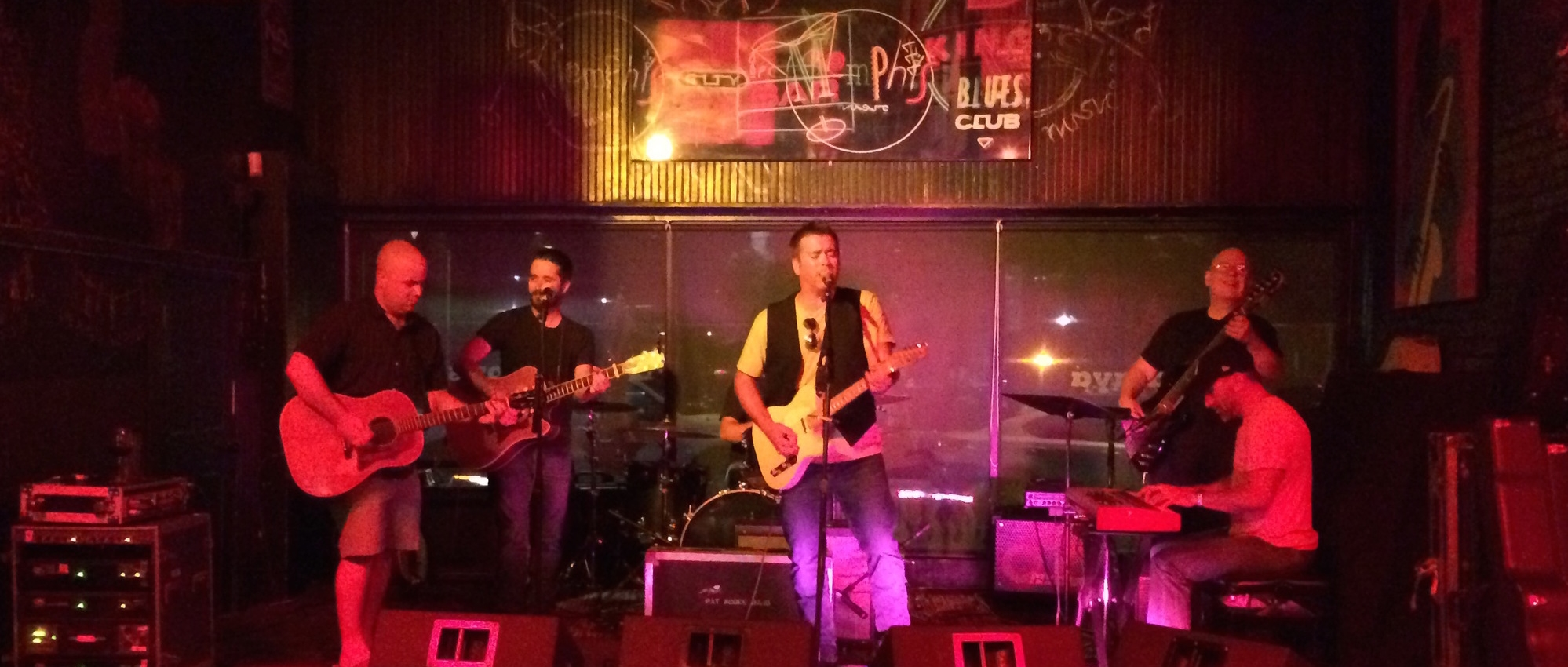 Pat McGee invited Chris up to play Who Stole Her From Heaven with the band.  July 11, 2015