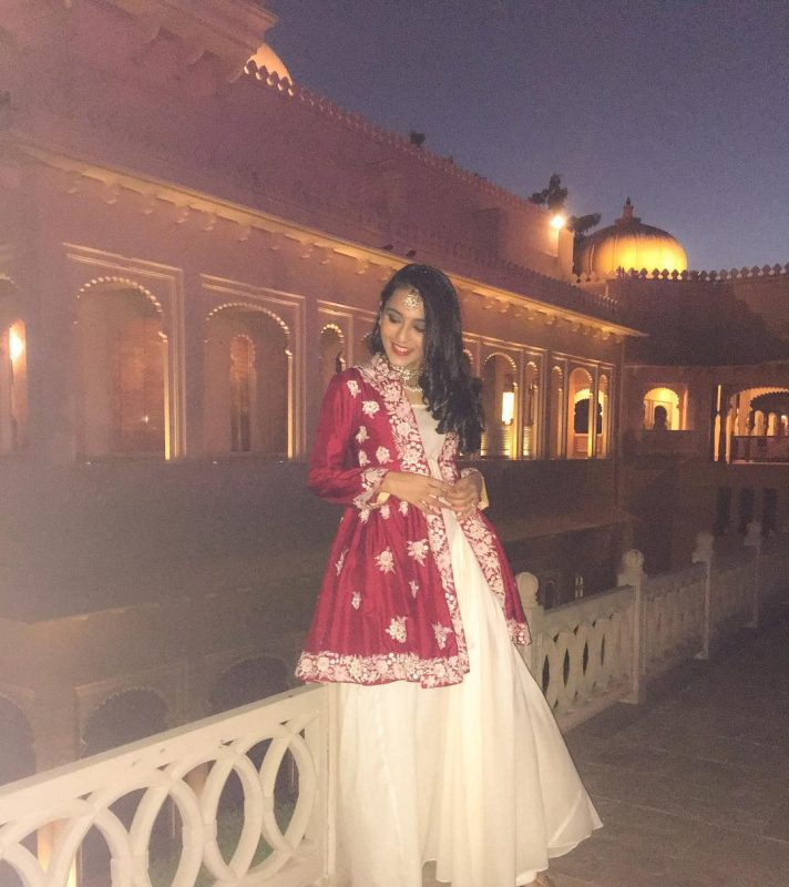 Outfit By:  Aditi Somani , Delhi & Mumbai